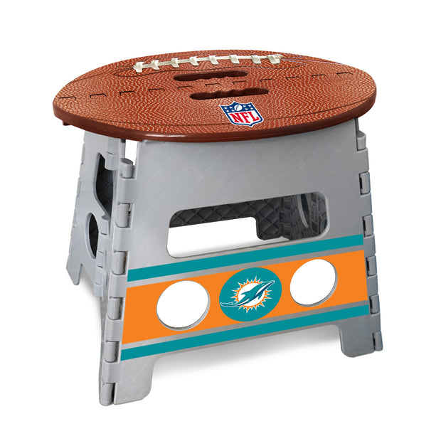 Miami Dolphins Football Step Stool from Team Sports Gift. Click now to shop a wide variety of kids gear, bedding, games and much more.  TSG, for the super fan in all of us.