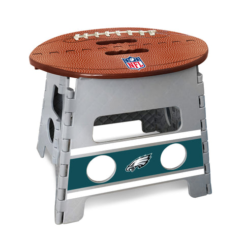 Philadelphia Eagles Football Step Stool from Team Sports Gift. Click now to shop a wide variety of kids gear, bedding, games and much more.  TSG, for the super fan in all of us.