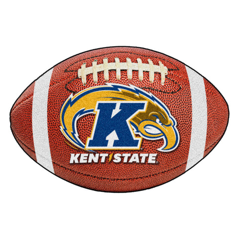 Kent State Golden Flashes Touchdown Football Area Rug