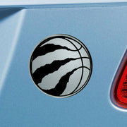 Toronto Raptors Chrome Emblem for Auto, Laptop or Mailbox