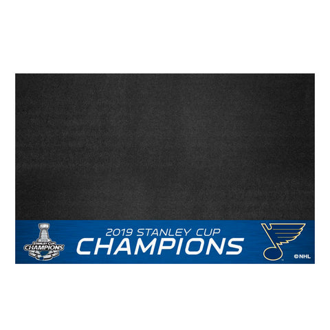 2019 St. Louis Blues Stanley Cup Champions BBQ Grill Mat