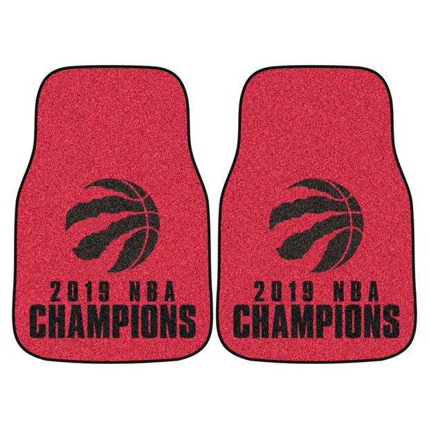 Toronto Raptors 2019 NBA Finals Carpet Floor Mats