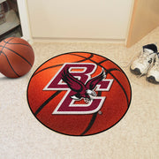 Boston College Eagles Basketball Area Rug in Room