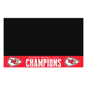 2020 Kansas City Chiefs Super Bowl Champions BBQ Grill Mat