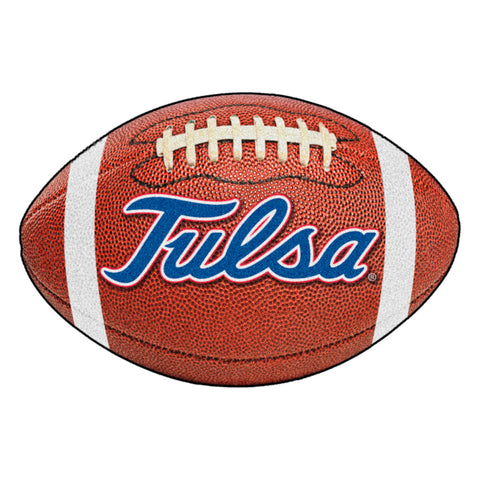 Tulsa Golden Hurricanes Touchdown Football Area Rug