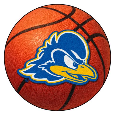 Delaware Fightin' Blue Hens Basketball Area Rug