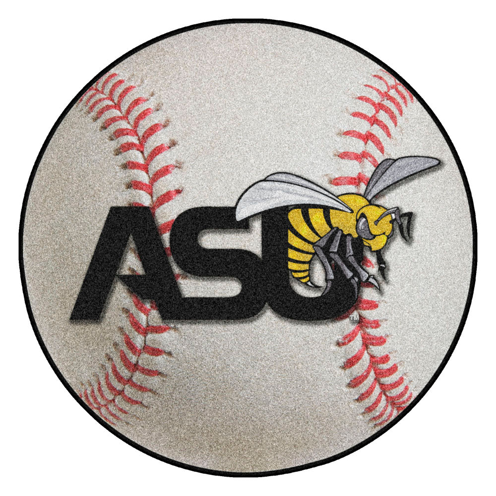Alabama State Hornets Grand Slam Baseball Area Rug