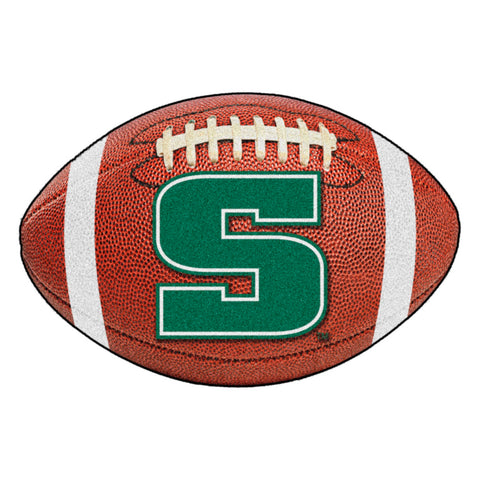 Slippery Rock Touchdown Football Area Rug