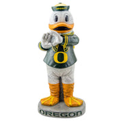 Oregon Ducks Yard Art Puddles the Duck Garden Statue in Team Colors