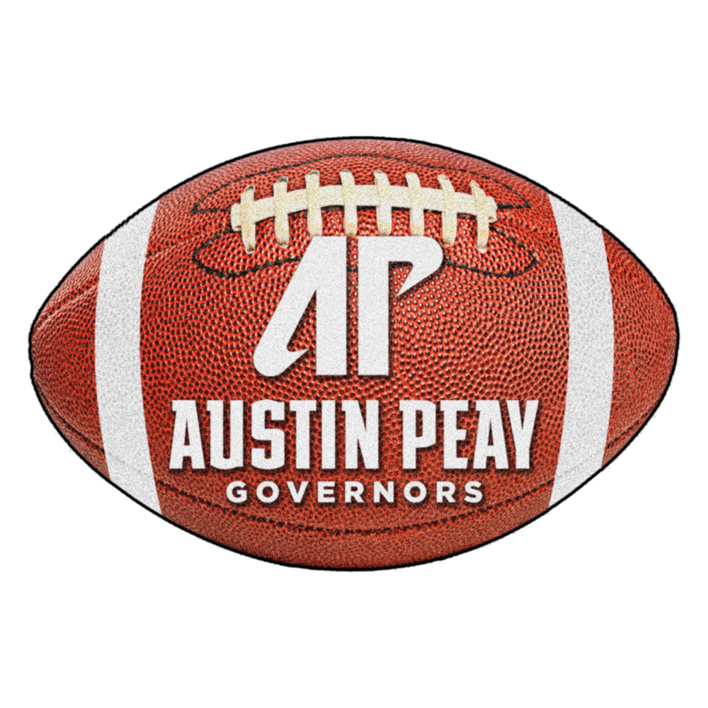 Austin Peay Governors Touchdown Football Area Rug