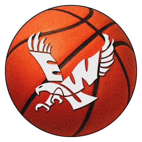 Eastern Washington Eagles Basketball Area Rug