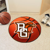 Bowling Green Falcons Basketball Area Rug in Room