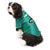 New York Jets Pet Stretch Jersey on a Dog