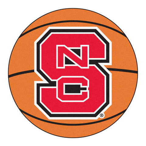 NC State Wolfpack Basketball Area Rug