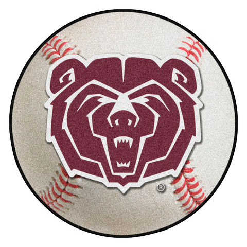 Missouri State Bears Grand Slam Baseball Area Rug