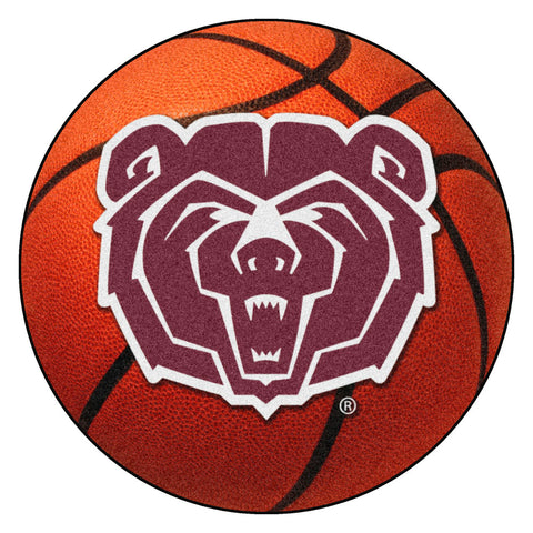 Missouri State Bears Basketball Area Rug
