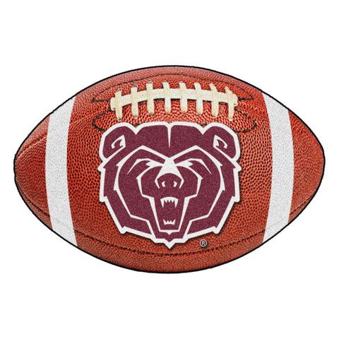 Missouri State Bears Touchdown Football Area Rug