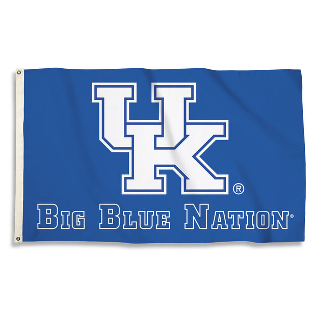 Kentucky Wildcats Team Slogan Flag