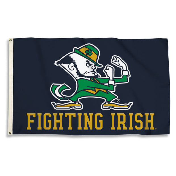 Notre Dame Fighting Irish Team Spirit Flag