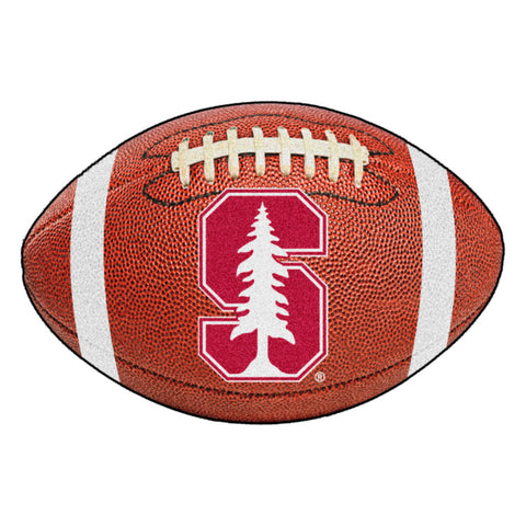 Stanford Cardinals Touchdown Football Area Rug