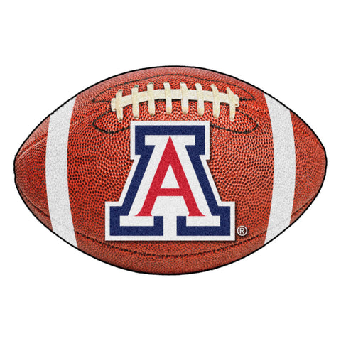 Arizona Wildcats Touchdown Football Area Rug
