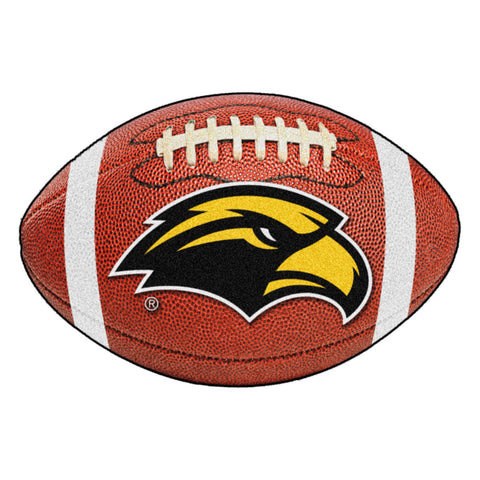Southern Miss Golden Eagles Touchdown Football Area Rug