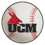 Central Missouri Mules Grand Slam Baseball Area Rug