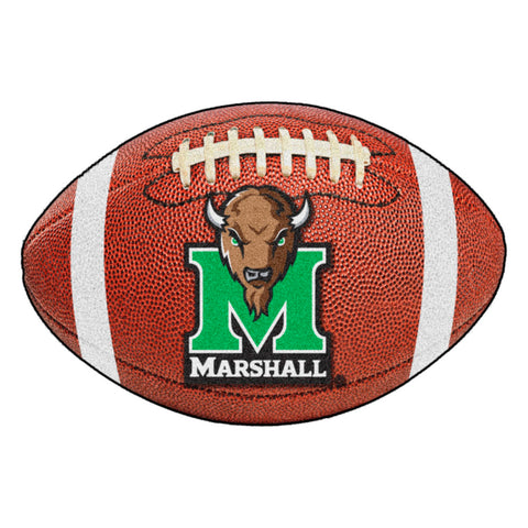 Marshall Thundering Herd Touchdown Football Area Rug