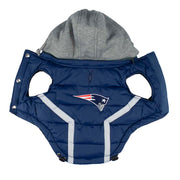 New England Patriots Sporty Puffer Vest for Dogs