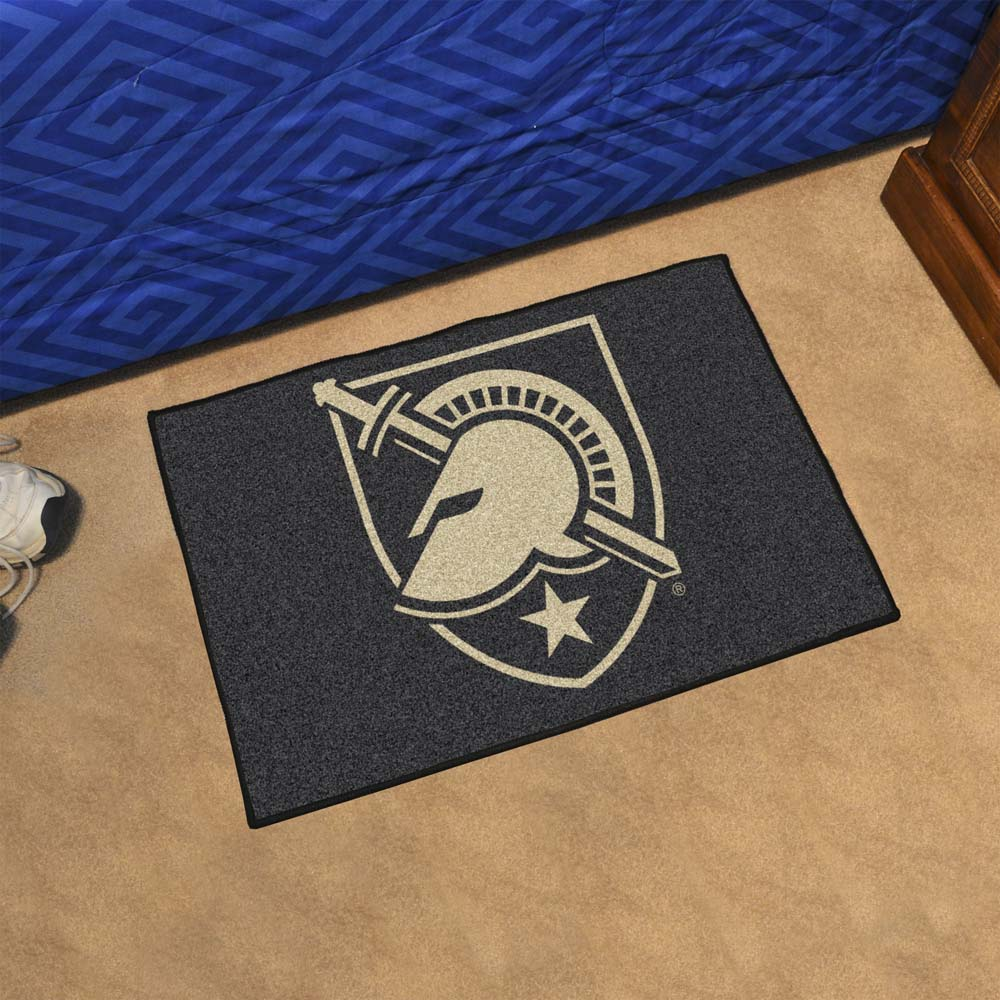 Army Black Knights Tufted Area Rug Starter Rug
