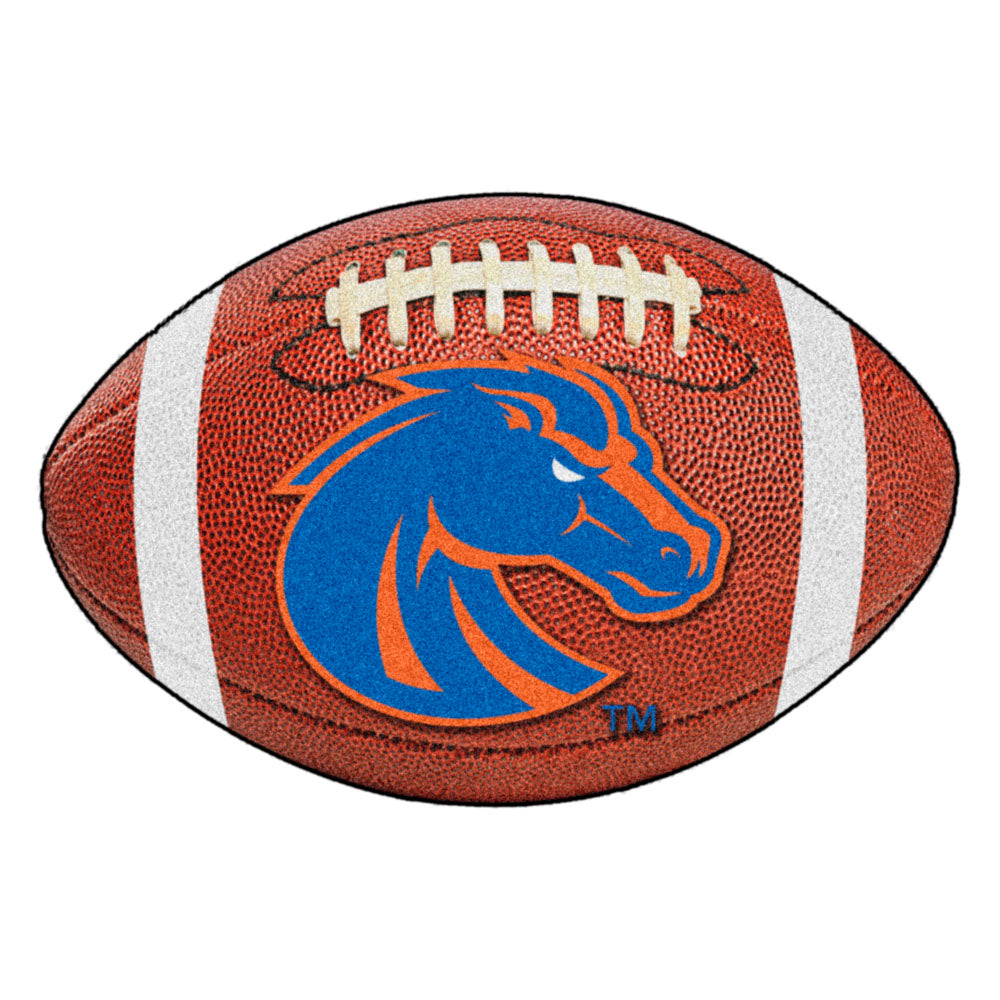 Boise State Broncos Touchdown Football Area Rug