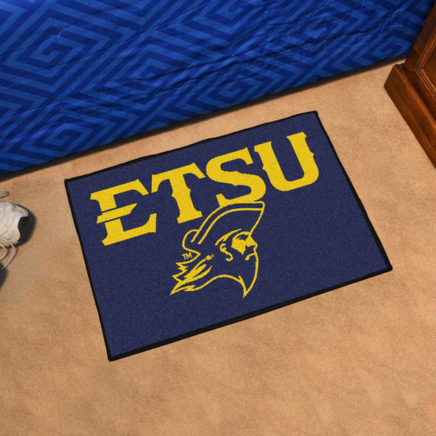 East Tennessee State Buccaneers Tufted Area Rug Starter Rug