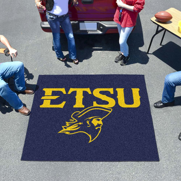 East Tennessee State Buccaneers Tufted Area Rug Tailgater Rug