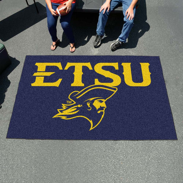 East Tennessee State Buccaneers Tufted Area Rug Ultimat Rug