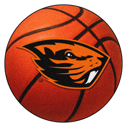 Oregon State Beavers Basketball Area Rug