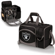 Oakland Raiders Picnic Basket, Wine Tote & Cooler