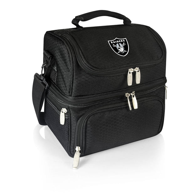 Oakland Raiders Personal Cooler & Lunch Box in Black