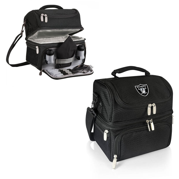Oakland Raiders Personal Cooler & Lunch Box
