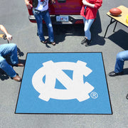 University of North Carolina Tufted Area Rug Tailgater Rug