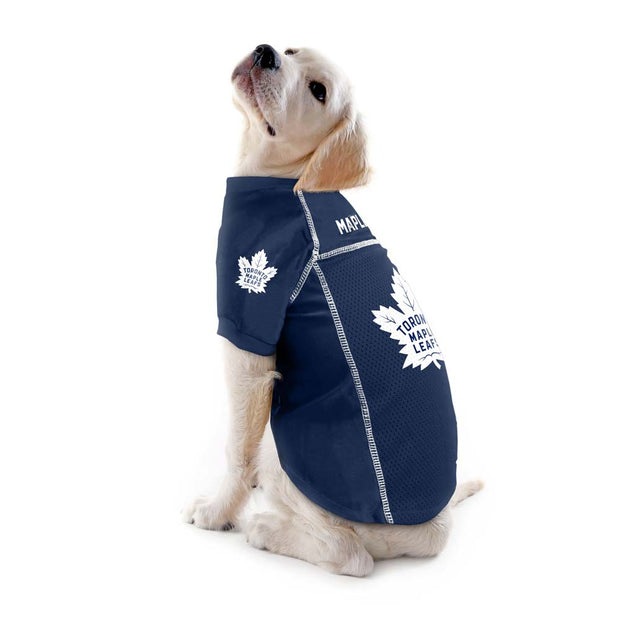 Toronto Maple Leafs Team Jersey on a Dog