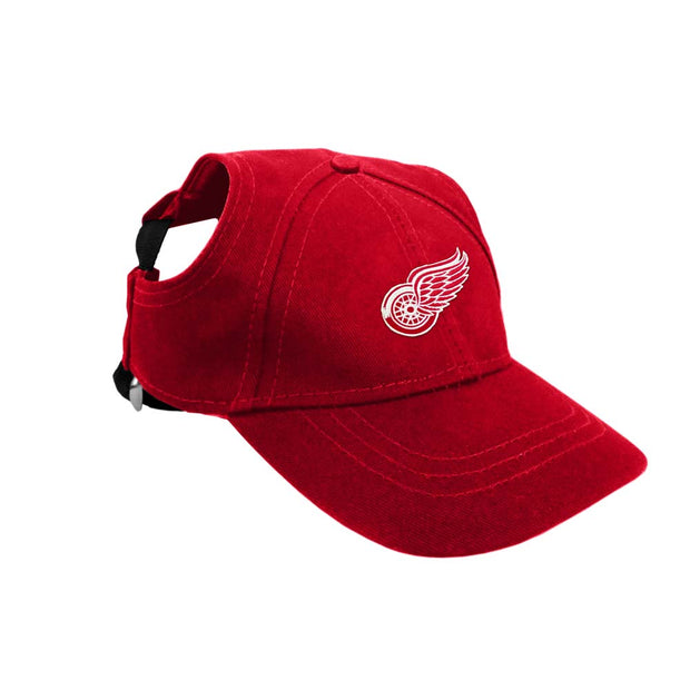 Detroit Red Wings Baseball Cap for Dogs