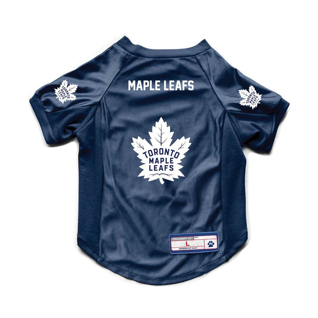 Toronto Maple Leafs Pet Stretch Jersey Back