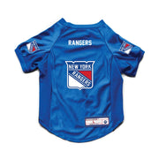 New York Rangers Pet Stretch Jersey Back