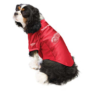 Detroit Red Wings Pet Stretch Jersey on a Dog