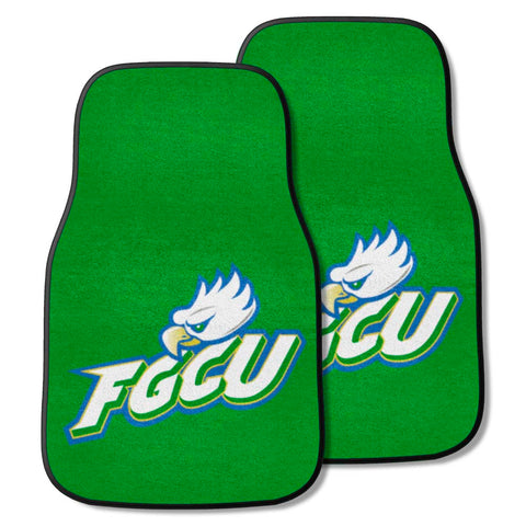 Florida Gulf Coast Eagles Gray Carpet Floor Mats