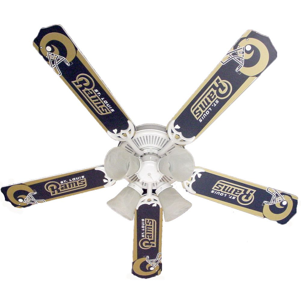 Los Angeles Rams 5 Blade Ceiling Fan