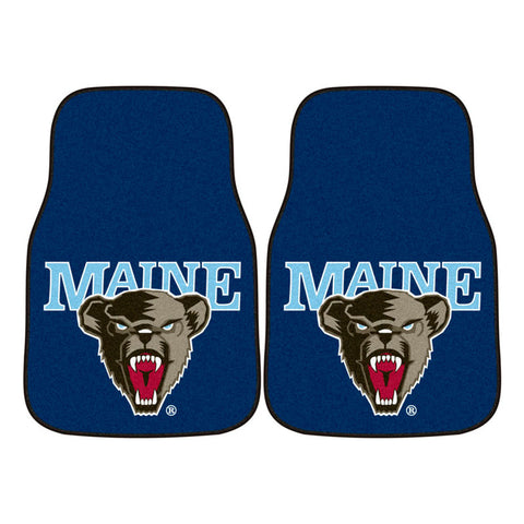 Maine Black Bears Blue Carpet Floor Mats
