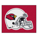 Arizona Cardinals Football Helmet Area Rug