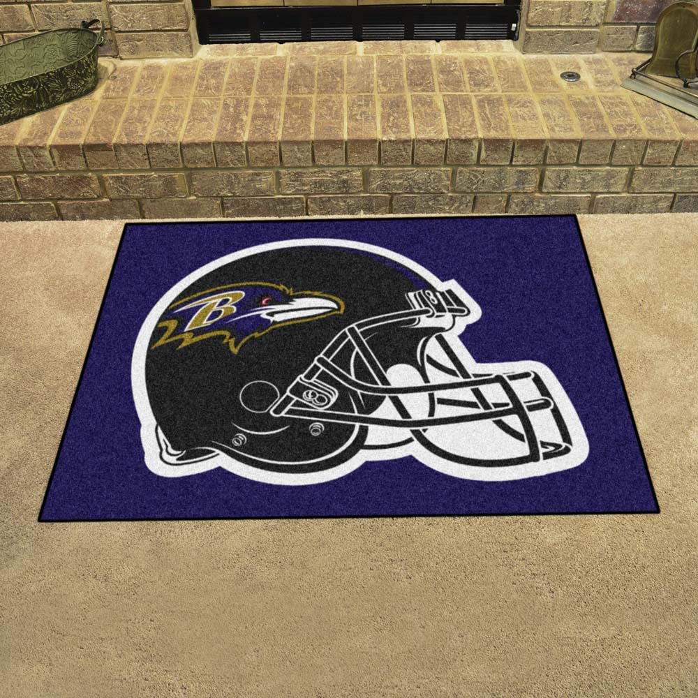 Baltimore Ravens Tufted Area Rug Allstar Rug
