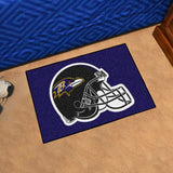 Baltimore Ravens Tufted Area Rug Starter Rug